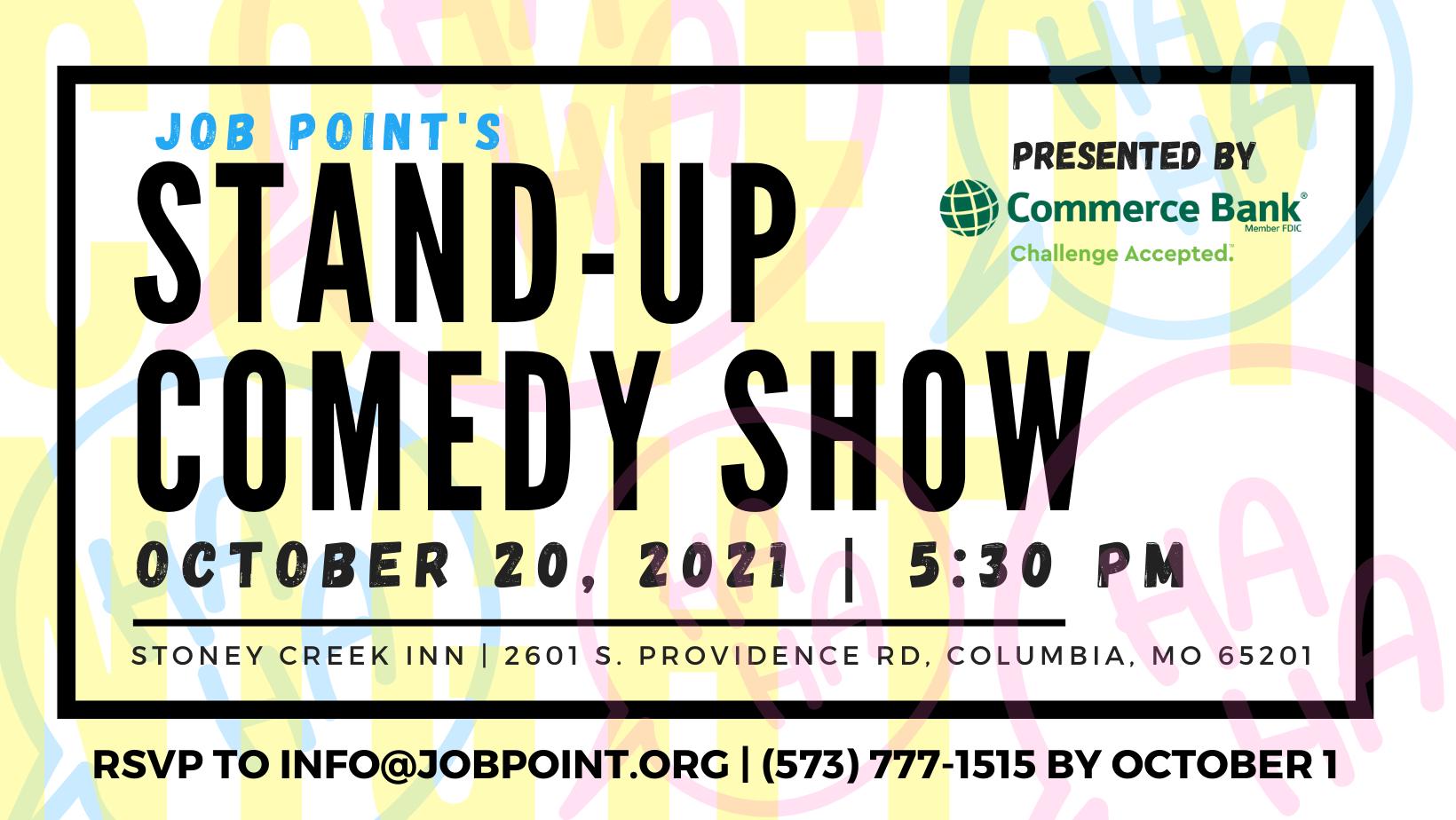 Comedy Night Invitation