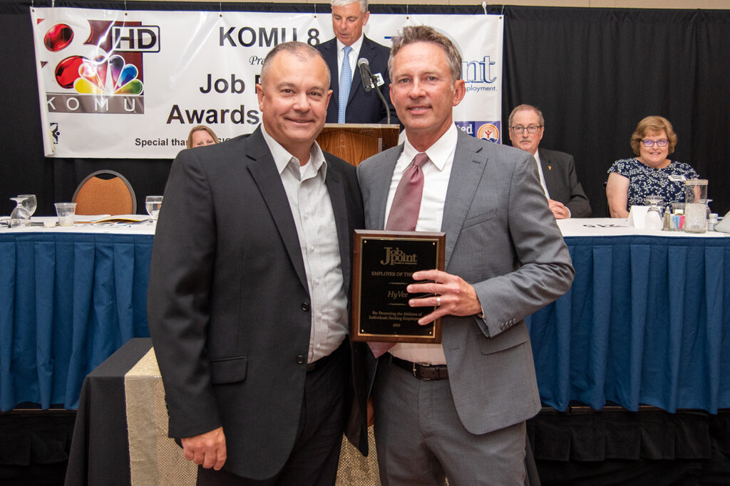 Jim Simmons and Nick Allen - Employer of the Year